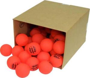 Orange Hockey Balls Dog Toys
