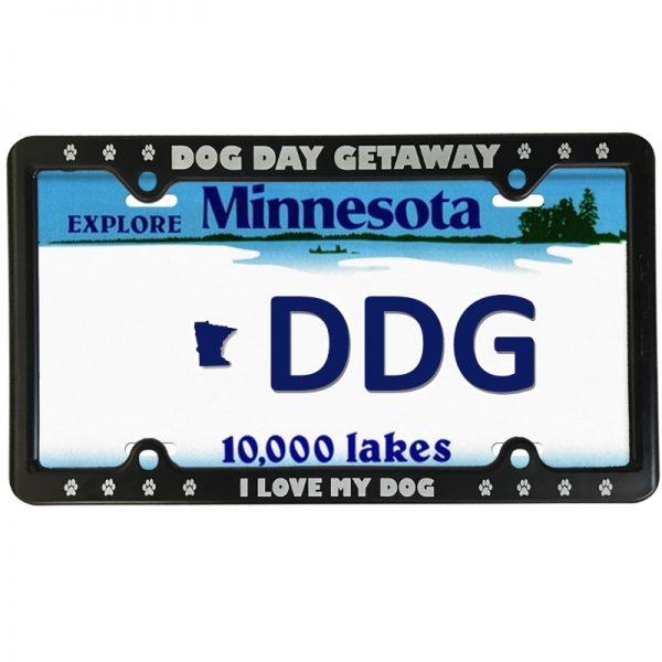 DDG License Plate Frame