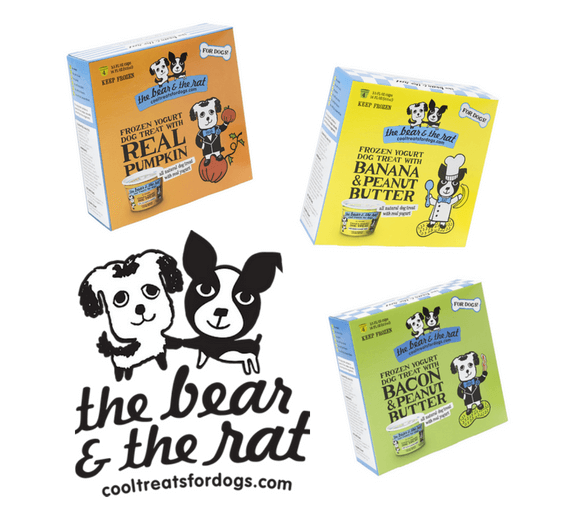 The Bear and the Rat Dog Treats